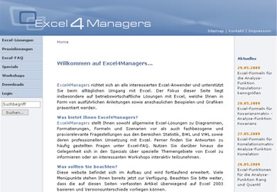 Excel 4 Managers